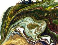 Αφηρημένο υπόβαθρο Υγρό μαρμάρινο σχέδιο Ζωηρόχρωμο μαρμάρινο σκηνικό χρυσός ακτινοβολήστε σύσταση Στοκ φωτογραφίες με δικαίωμα ελεύθερης χρήσης
