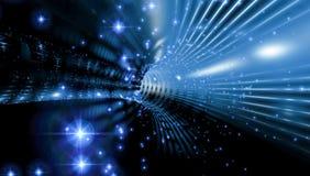 Αφηρημένο υπόβαθρο, φανταστική εξερεύνηση του διαστήματος ελεύθερη απεικόνιση δικαιώματος
