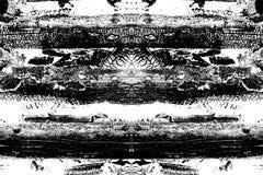 Αφηρημένο υπόβαθρο φιαγμένο από μμένα κούτσουρα με τη λεπτομερή γραφική δομή μαύρο λευκό διανυσματική απεικόνιση