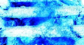 Αφηρημένο υπόβαθρο φιαγμένο από μμένα κούτσουρα με τη λεπτομερή γραφική δομή Μπλε τόνος διανυσματική απεικόνιση