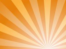 Αφηρημένο υπόβαθρο φωτός του ήλιου Πορτοκαλί και χρυσό υπόβαθρο έκρηξης χρώματος επίσης corel σύρετε το διάνυσμα απεικόνισης απεικόνιση αποθεμάτων