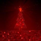 Αφηρημένο υπόβαθρο Χριστουγέννων. Διανυσματική απεικόνιση. EPS 10. Στοκ Φωτογραφίες