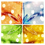 Αφηρημένο υπόβαθρο Χριστουγέννων Στοκ φωτογραφία με δικαίωμα ελεύθερης χρήσης
