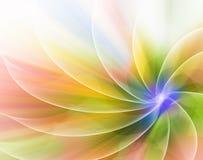 Αφηρημένο υπόβαθρο χρώματος υπό μορφή λουλουδιού Στοκ φωτογραφίες με δικαίωμα ελεύθερης χρήσης