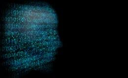 Αφηρημένο υπόβαθρο όπως την ψηφιακή απεικόνιση δικτύωσης στο σκοτάδι Στοκ φωτογραφίες με δικαίωμα ελεύθερης χρήσης
