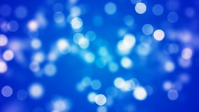 Αφηρημένο υπόβαθρο Loopable με το συμπαθητικό μπλε bokeh φιλμ μικρού μήκους
