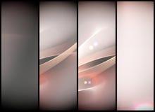 Αφηρημένο υπόβαθρο Minimalistic με τα κύματα και το μαλακό φως απεικόνιση αποθεμάτων