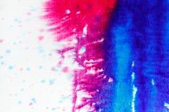 Αφηρημένο υπόβαθρο watercolor, κινηματογράφηση σε πρώτο πλάνο Στοκ Εικόνες