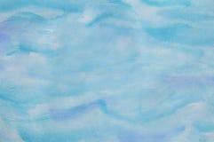 Αφηρημένο υπόβαθρο Watercolor σε Aqua διανυσματική απεικόνιση