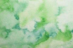 Αφηρημένο υπόβαθρο watercolor τέχνης Στοκ Εικόνες