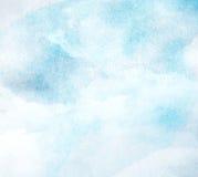 Αφηρημένο υπόβαθρο watercolor χρωμάτων σε χαρτί Στοκ εικόνες με δικαίωμα ελεύθερης χρήσης