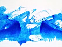 Αφηρημένο υπόβαθρο Watercolor, Στοκ Φωτογραφίες