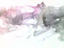Αφηρημένο υπόβαθρο Watercolor, Στοκ Εικόνες