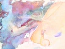 Αφηρημένο υπόβαθρο Watercolor, Στοκ εικόνα με δικαίωμα ελεύθερης χρήσης