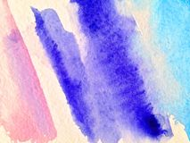 Αφηρημένο υπόβαθρο Watercolor, Στοκ Εικόνα