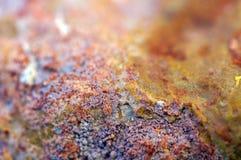 Αφηρημένο φανταστικό υπόβαθρο από ένα μετάλλευμα βράχου σύσταση πετρών βράχου βρύου Στοκ Φωτογραφίες