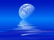 αφηρημένο φεγγάρι Ελεύθερη απεικόνιση δικαιώματος