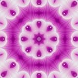 Αφηρημένο φουτουριστικό υπόβαθρο με την κυκλική διακόσμηση υπό μορφή φύλλων και λουλουδιού στοκ φωτογραφία με δικαίωμα ελεύθερης χρήσης