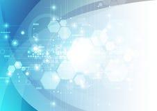 Αφηρημένο φουτουριστικό ψηφιακό υπόβαθρο τεχνολογίας διάνυσμα απεικόνισης
