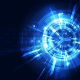 Αφηρημένο φουτουριστικό ψηφιακό υπόβαθρο τεχνολογίας διάνυσμα απεικόνισης Στοκ Εικόνα