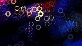Αφηρημένο φρέσκο υπόβαθρο σχεδίου με το ελαφρύ σχέδιο κύκλων και τα λαμπρά χρώματα Στοκ φωτογραφία με δικαίωμα ελεύθερης χρήσης