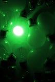 αφηρημένο φως βολβών Στοκ Εικόνες