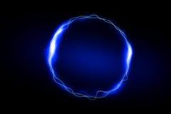 Αφηρημένο φως κύκλων στο υπόβαθρο Στοκ Εικόνες