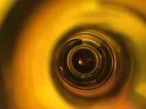 Αφηρημένο φως σε ένα μπουκάλι Στοκ φωτογραφία με δικαίωμα ελεύθερης χρήσης