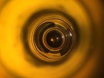 Αφηρημένο φως σε ένα μπουκάλι Στοκ εικόνα με δικαίωμα ελεύθερης χρήσης