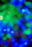 αφηρημένο φως Χριστουγένν& Στοκ φωτογραφία με δικαίωμα ελεύθερης χρήσης