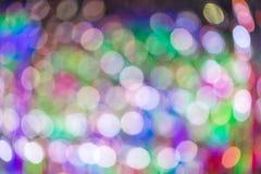 Αφηρημένο φως disco bokeh Στοκ Εικόνες