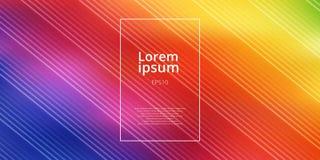 Αφηρημένο φωτεινό θολωμένο πλέγμα υπόβαθρο κλίσης χρωμάτων ουράνιων τόξων με το διαγώνιο σχέδιο γραμμών διανυσματική απεικόνιση