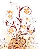 αφηρημένο χάος floral Στοκ εικόνες με δικαίωμα ελεύθερης χρήσης