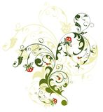 αφηρημένο χάος floral Στοκ Εικόνες