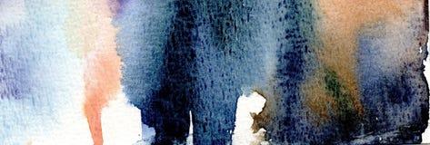 αφηρημένο χέρι ανασκόπησης που χρωματίζεται Στοκ Εικόνα