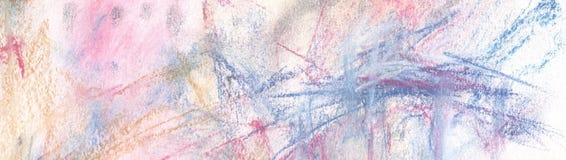 αφηρημένο χέρι ανασκόπησης που χρωματίζεται Στοκ Φωτογραφίες