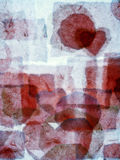Αφηρημένο χέρι υποβάθρου - έκανε ένα κολάζ Στοκ εικόνες με δικαίωμα ελεύθερης χρήσης
