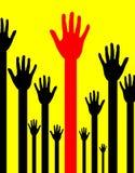 αφηρημένο χέρι 2 Στοκ φωτογραφία με δικαίωμα ελεύθερης χρήσης