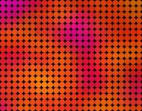 Αφηρημένο χαμηλό πολυ υπόβαθρο, το οποίο γίνεται από τους κύκλους σε πολλά χρώματα Στοκ Φωτογραφίες