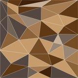 Αφηρημένο χαμηλό πολυ υπόβαθρο των τριγώνων στοκ εικόνα