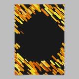 Αφηρημένο χαοτικό στρογγυλευμένο διαγώνιο πρότυπο φυλλάδιων σχεδίων λωρίδων - σχέδιο υποβάθρου ιπτάμενων από τα χρωματισμένα λωρί Στοκ φωτογραφία με δικαίωμα ελεύθερης χρήσης