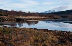 Αφηρημένο χειμερινό τοπίο Στοκ Φωτογραφία