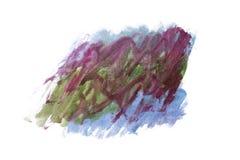 Αφηρημένο χειροποίητο υπόβαθρο Watercolor Στοκ Φωτογραφία