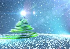 Αφηρημένο χριστουγεννιάτικο δέντρο. Στοκ φωτογραφία με δικαίωμα ελεύθερης χρήσης