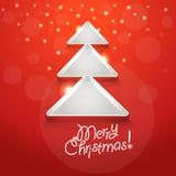 Αφηρημένο χριστουγεννιάτικο δέντρο Στοκ Φωτογραφία