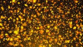 Αφηρημένο χρυσό ακτινοβολώντας υπόβαθρο τρισδιάστατη απόδοση φιλμ μικρού μήκους