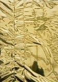 αφηρημένο χρυσό πρότυπο φύλ&la Στοκ φωτογραφίες με δικαίωμα ελεύθερης χρήσης