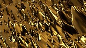 Αφηρημένο χρυσό υπόβαθρο σκηνής Στοκ φωτογραφίες με δικαίωμα ελεύθερης χρήσης
