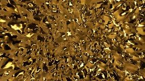 Αφηρημένο χρυσό υπόβαθρο σκηνής Στοκ εικόνες με δικαίωμα ελεύθερης χρήσης