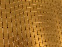 Αφηρημένο χρυσό υπόβαθρο Στοκ Εικόνες